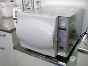 高温圧の滅菌器で完全滅菌